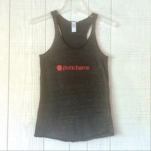 PURE BARRE Workout Racerback Tank Small